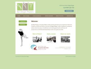 layout-realignpilates-homepage-screenshot